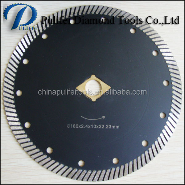 Swift Cut 7 Inch x 5/8 Inch Diamond Knockout Arbor Diamond Disc for Stone Cut Off Blade for Circular Saws