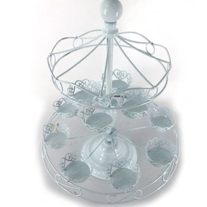 european cast iron revolving cake decorating stand for copper hanging wedding
