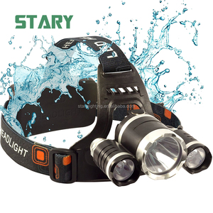 4 modes high power explosion proof led safety helmet headlamp head lamp light 10000 lumen for coal miners oilfield
