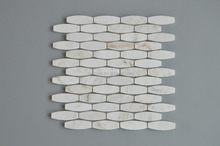 Arched brick wall .sweet white marble msoaic.chinese nature mosaic.best price and large quantity