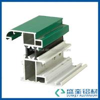 aluminum window frame Thermal-Break profile side-hung window powder coating profile