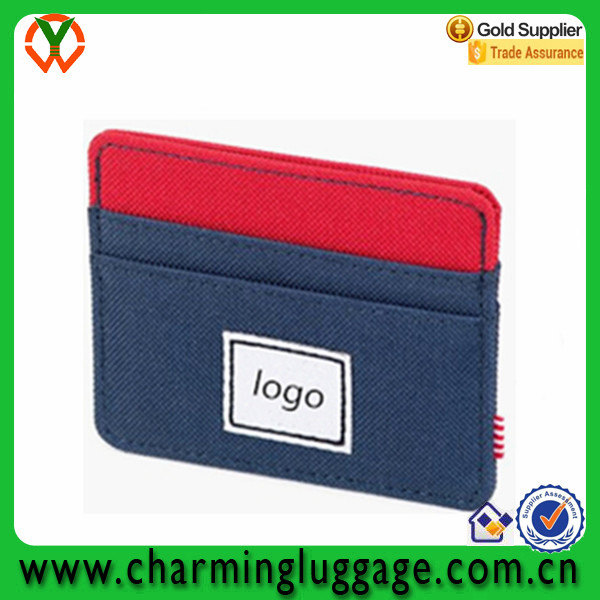 New fashion polyester credit card wallet holder