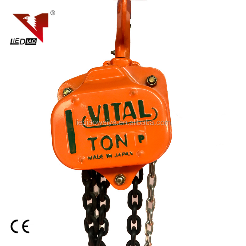 hand manual chain pulley block with gear and tackle pulley system