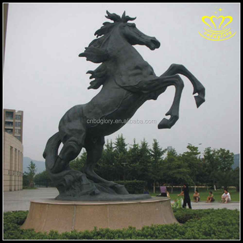 Garden decor Life Size metal Bronze animal Horse Statue for sale