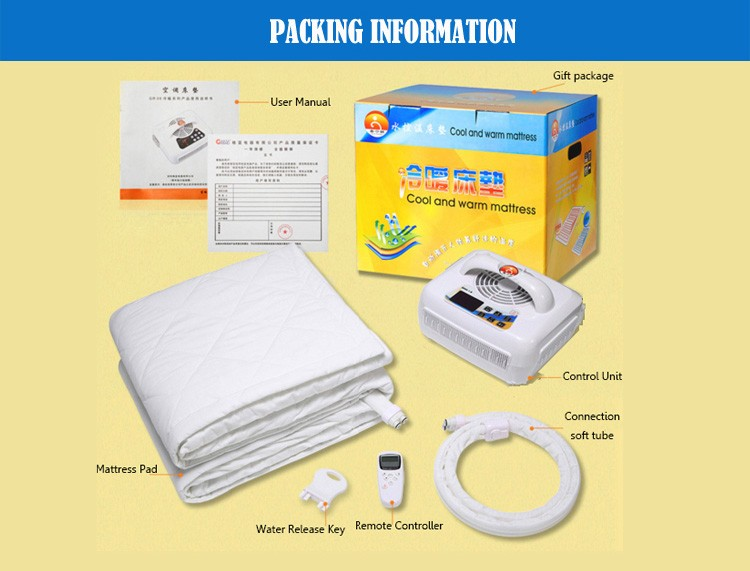 Bed Temperature Control Cooling And Heating Pad For Sleepwell