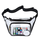 Transparent Waist Bag for Running Walking Cycling