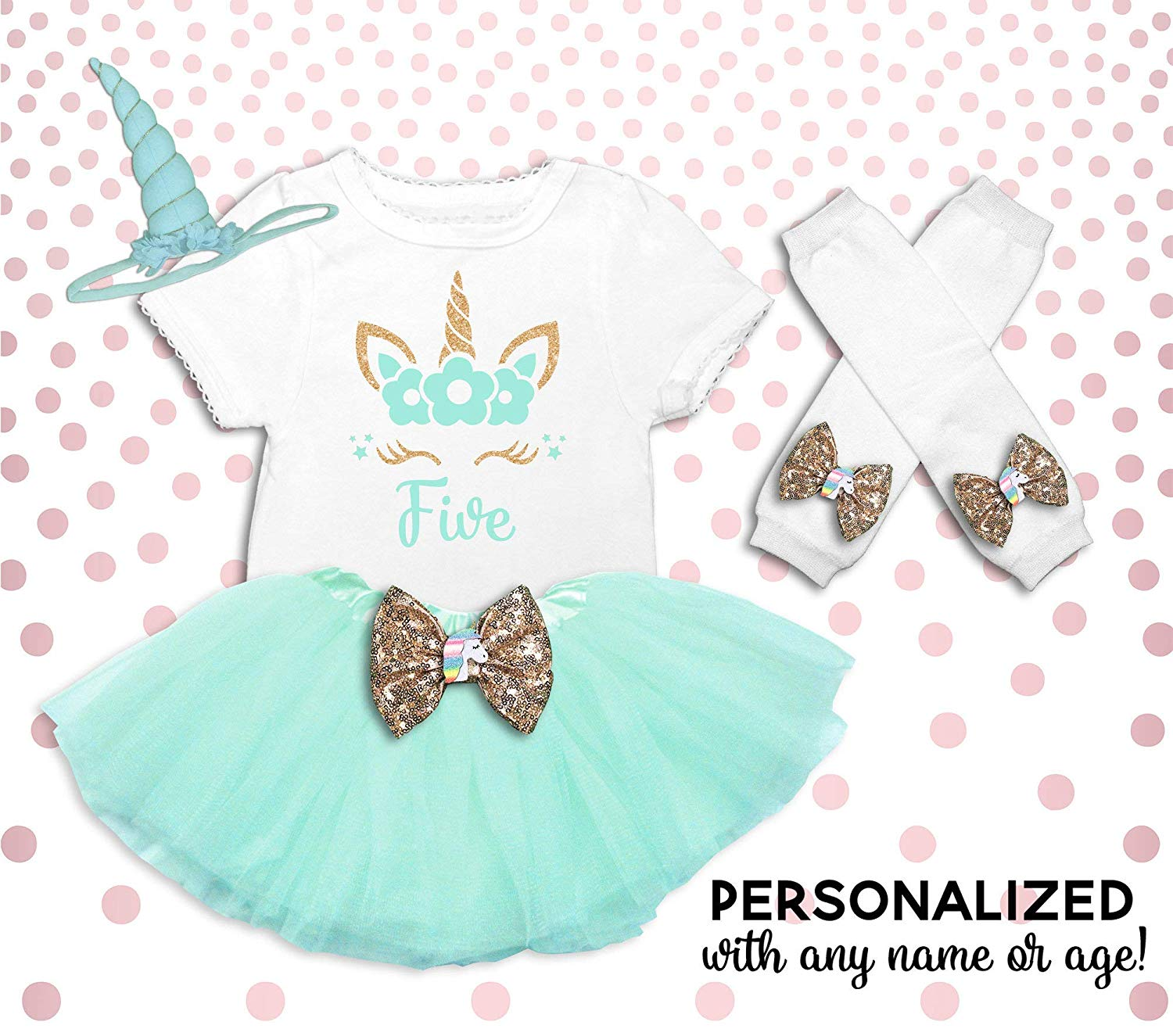 6513e6e86 Get Quotations · Unicorn 5th Birthday Outfit Girl Unicorn Birthday Shirt  Unicorn Birthday Outfit Unicorn 5th Birthday Tutu 5th