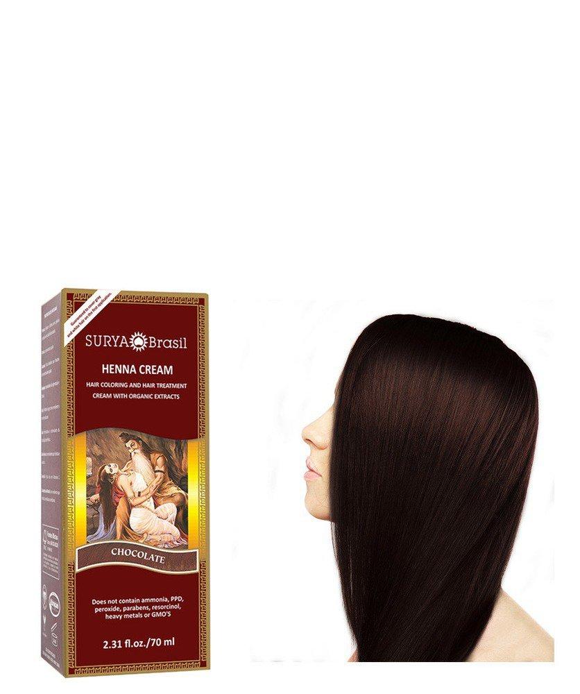 Surya Nature, Inc Henna Chocolate Cream Surya Nature, Inc 2.31 oz Cream