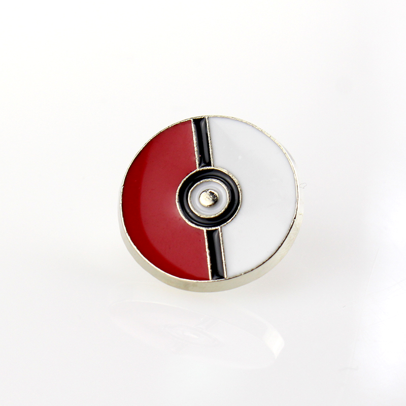 Pokemon Poke Bal Emaille Broche Pins Pikachu Badge Breastpin
