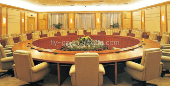 Modern Large And Round Wooden Conference Table Buy Conference - Large wooden conference table