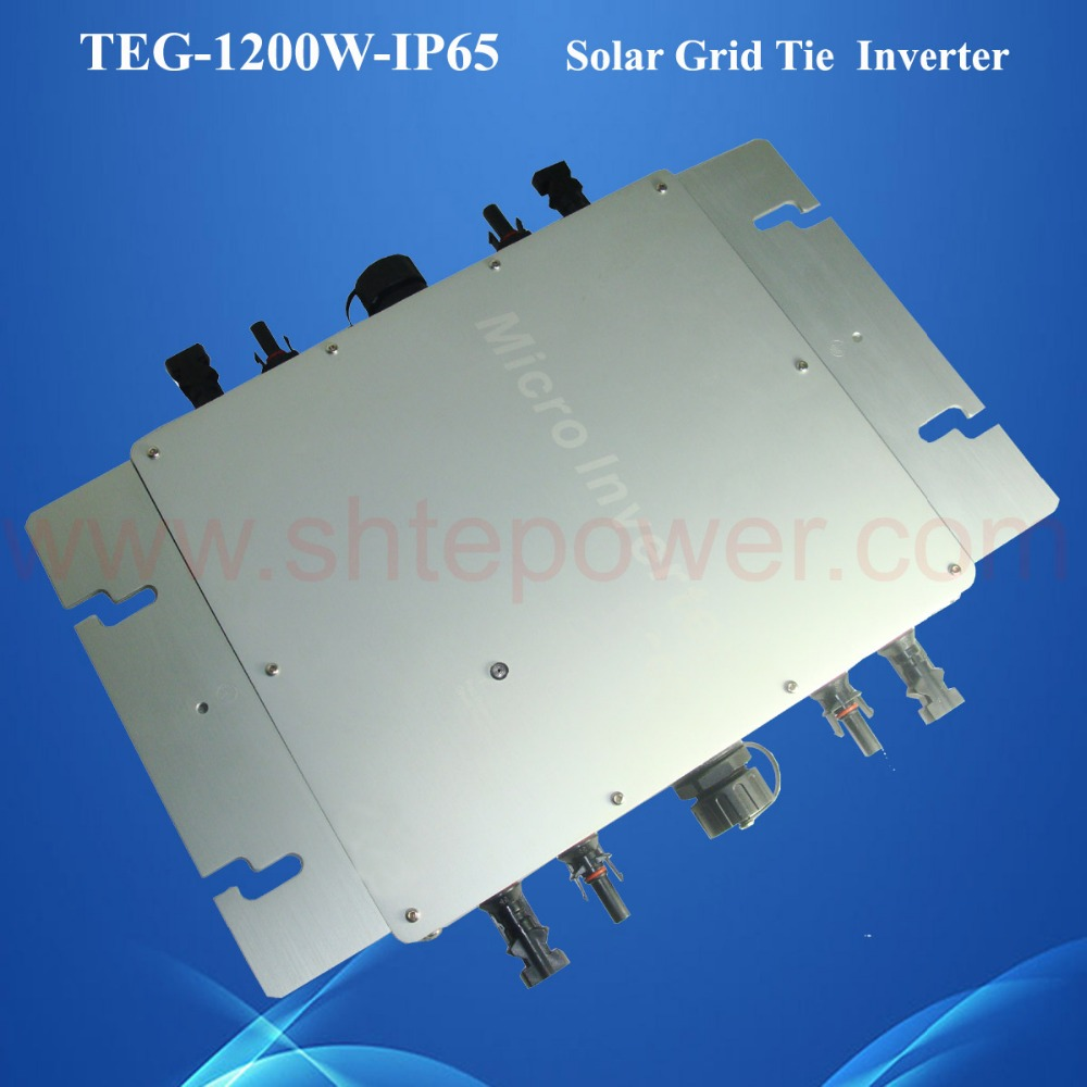 24v micro inverter 1200w on the grid tie inverter dc to ac solar inverter with Communication function