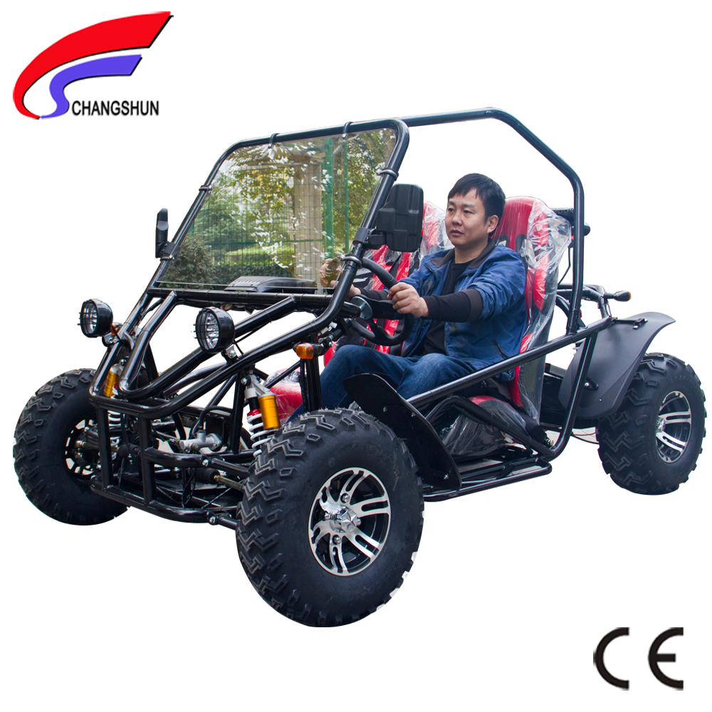 New Shaft Driving Raceing Electric 2 Seat 200cc Go Kart