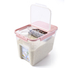 BPA FREE Large volume plastic storage container
