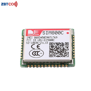 SIM800C SIMCOM newest and cheapest GSM/GPRS module replace SIM800 SIM900  with small size and LCC interface