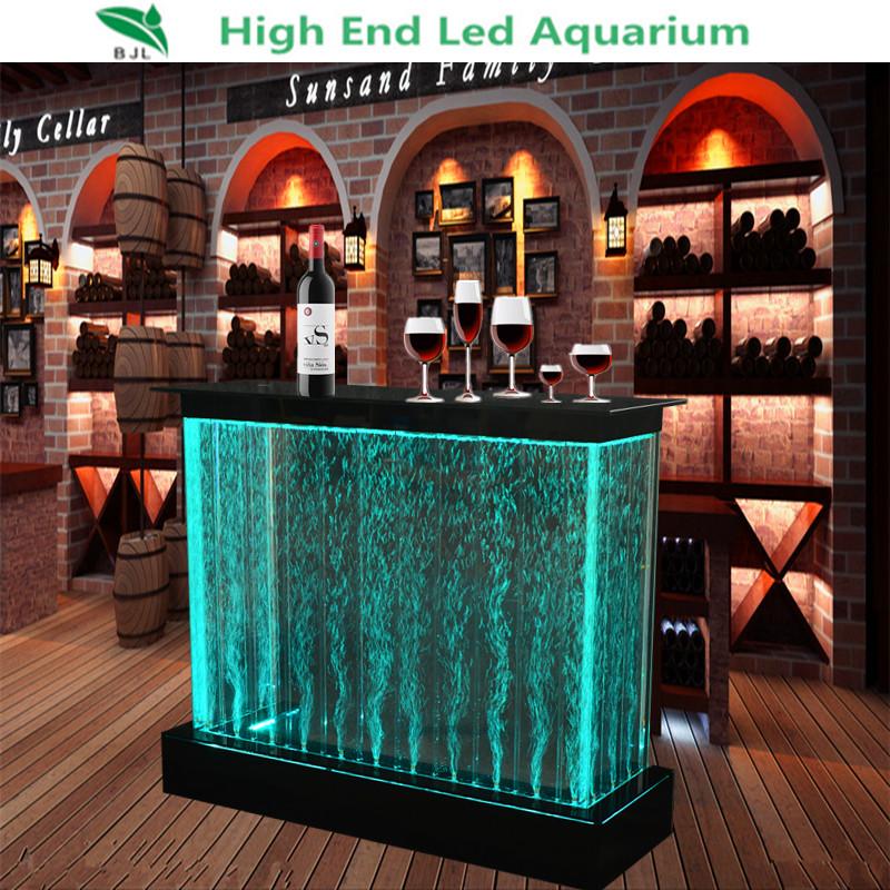 Used Home Bar Furniture Square Luxury Table Wedding Led Light