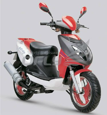 EEC Approved 125cc Gas Motor Scooter WZMS1269EEC
