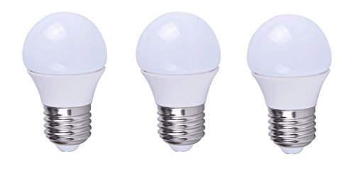 Grimaldi Lighting LED Bulb, 3 Pack, 3 Watts, 260 Lumens, A15 Style Bulb, Warm White, Dimmable, 25W Equivalent