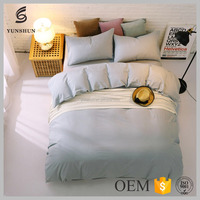 Factory directly sale 100% cotton bedding set king size bed sheet 4 set