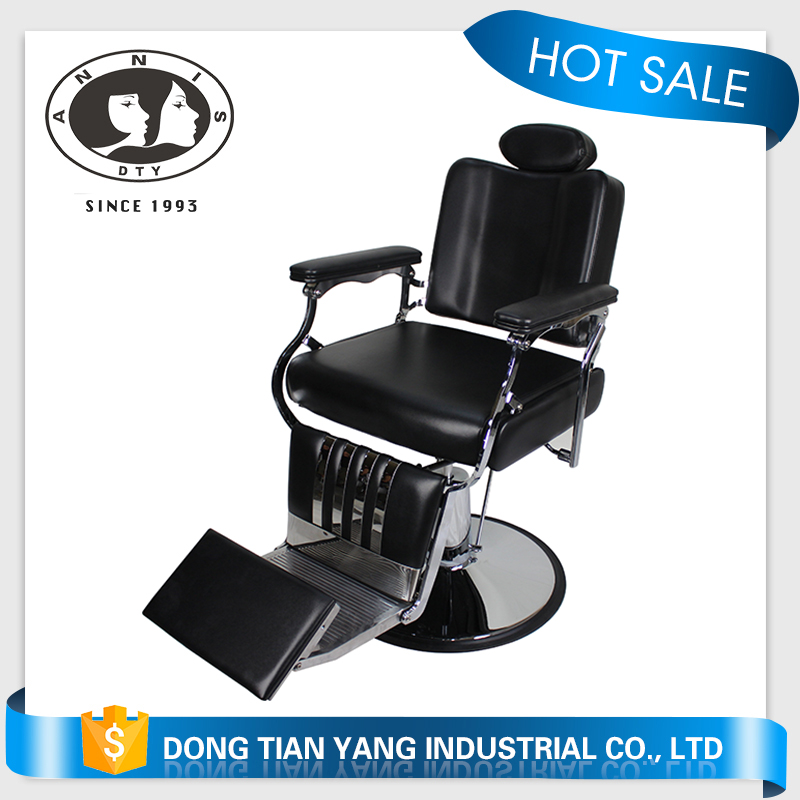 Vintage Reclining Hair Salon Barber Chairs
