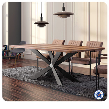 Europe Design Wooden Modern Italian Dining Table Furniture
