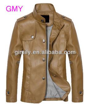 Fashion Men Clothing Leather Jackets Leather Man Jackets Usa Winter