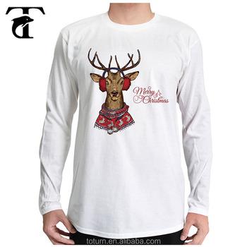 cheap custom sublimation printing t shirts wholesale printed 100 cotton christmas t shirts - Cheap Christmas Shirts