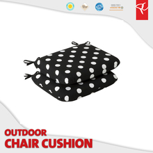 Promotional product printed spun poly fabric cusion pillow sofa seat cushion