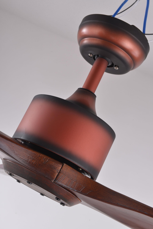 Best Price Fancy Decorative Solid Wood 52 Inch Hanging Fan Modern