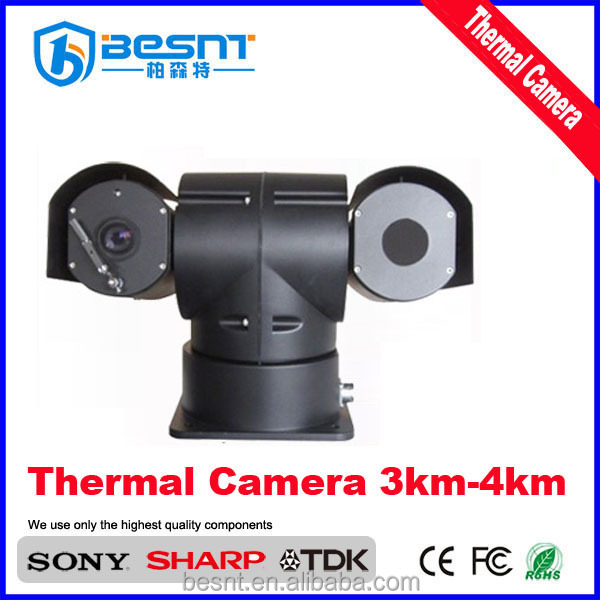 high quality 360degree rotation 3-4 km long range thermal imaging camera OEM , ODM BS-N298