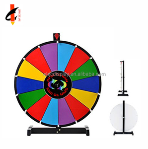 Cheap Spinning prize wheel with high performance and magnetic label and dry erase