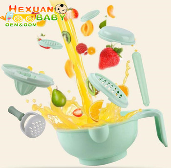 Plastic Baby Grinding Bowl Food Making Homemade Baby Food, Baby food Bowl