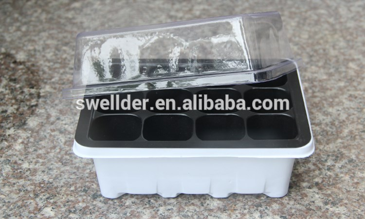 2019 hot new polystyrene plastic trays for seedlings nursery products