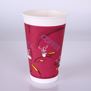 ISO quality disposable paper coffee cup prices