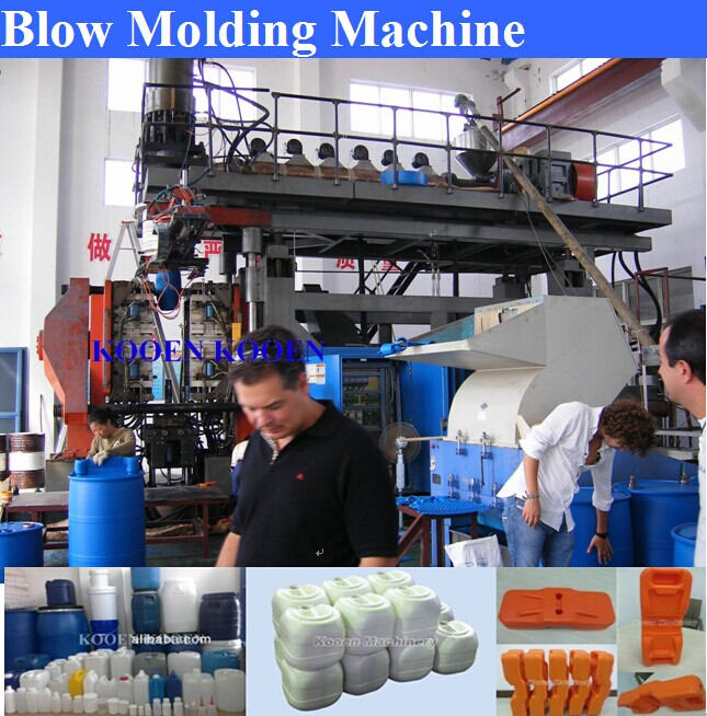 30 liters HDPE Plastic Drum Blow Moulding Making Machine