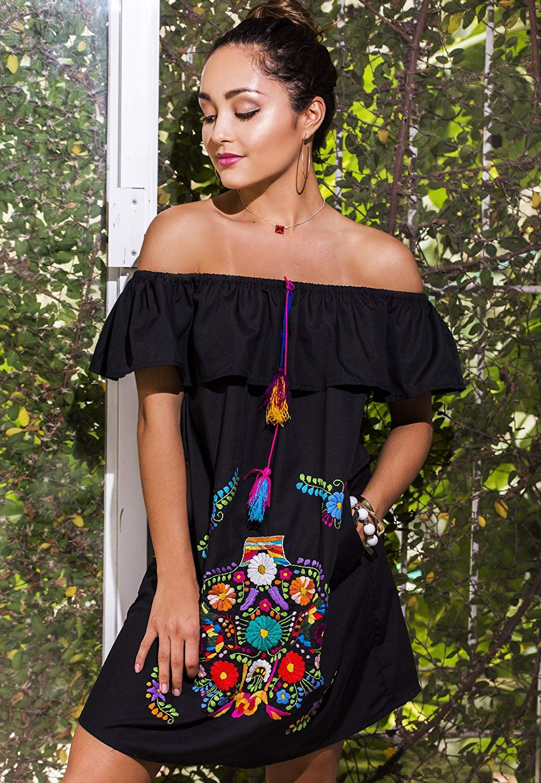 91b0e42a6467 Cheap Short One Shoulder Black Dress