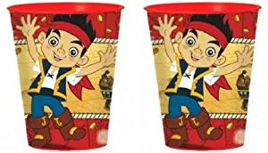 Jake and the Neverland Pirates 16oz Plastic Cup (2-pack)
