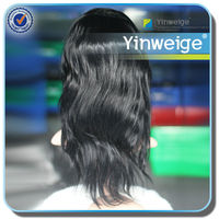 wholesale straight virgin mongolian hair full lace wig bleached knots