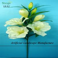 SJZL08 Make artificial lily flower arrangements ,artificial easter aromatic lily flower