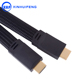 3D 4K 1080P 14+1pin High Speed 6ft HDMI Flat Cable 1.4 version 2.0 version support High Speed Full HD 4K Display