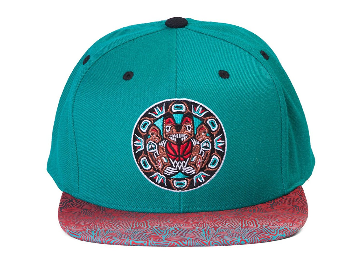 e866db9a9da Get Quotations · Mitchell   Ness Vintage Vancouver Grizzlies Court Vision  Snapback