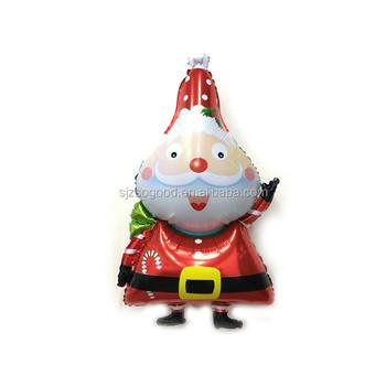 Father Christmas Cartoon Images.Toys Air Geezer Cartoon Helium Balloon Merry Christmas Party Foil Father Christmas Hydrogen Mylar Balloons For Gift Buy Helium Foil