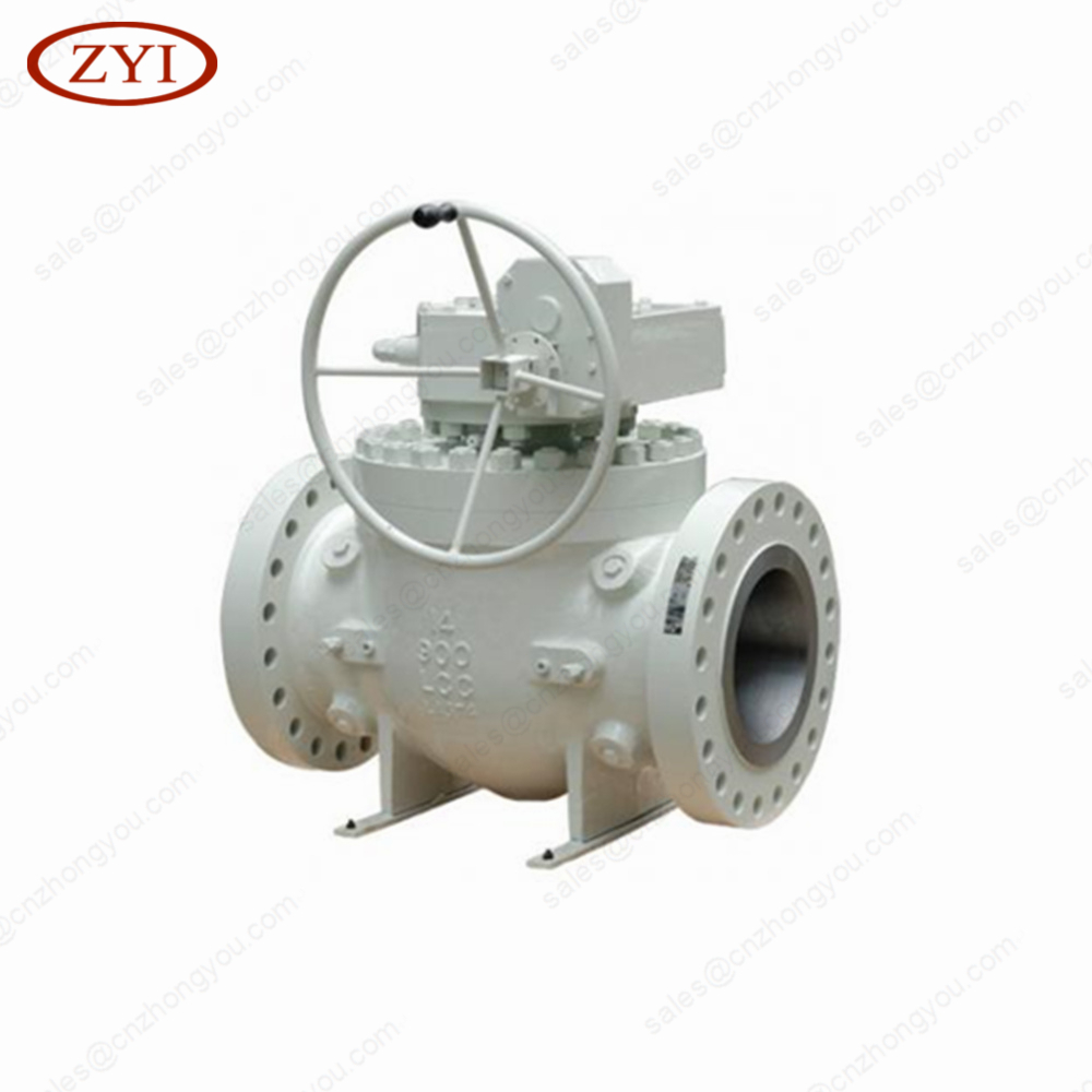 Stainless steel 304 316L Sanitary Clamp Flange Thread worm gear welded ball valve