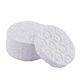 Hot soft cosmetic lint free facial makeup remover cleaning cotton pads cosmetic three layers pressed round cotton pads