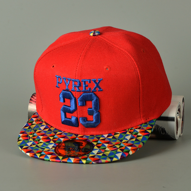 2016 Letter Casual Rushed Offer Hat Gorras Fashion Children Pyrex 23 Baseball Cap Adjustable Digital Kids
