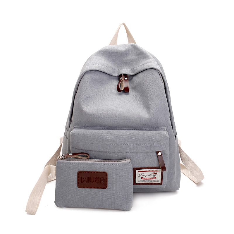 lightweight Japanese school canvas backpack bag colorful satchel backpack vintage
