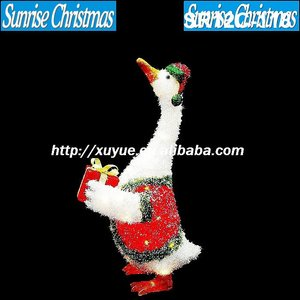 [2012 Hot New!]christmas lighted goose/christmas decorations SR12C-118