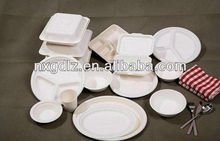 Eco-creative 100% Biodegradable Mirowavable Dinnerware