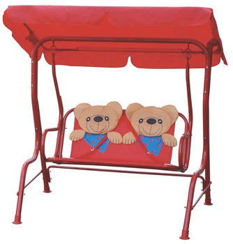 Kids Porch Swing 2 Person Patio Seat