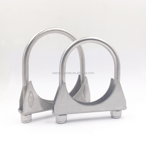 304 stainless steel automobile exhaust tube U clamp