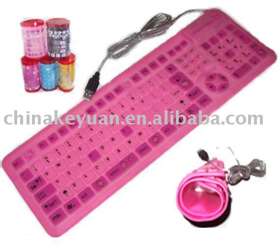 water proof silicone keyboard